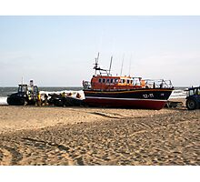 'Lincolnshire Poacher' & Recovery Team - Skegness Photographic Print