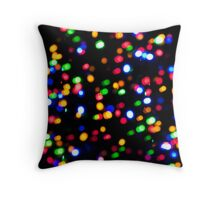 Psychedelic Sprinkles   Throw Pillow