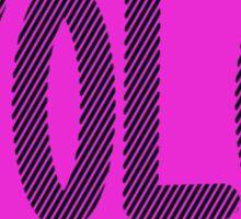 Yolo Purple Sticker