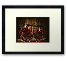 Don't mess with us ~ Framed Print