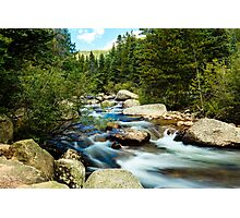 Rocky Mountain Stream Photographic Print