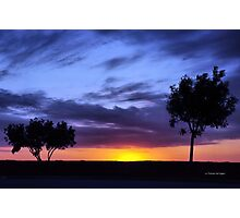 Texas Sunset 1.1 Photographic Print