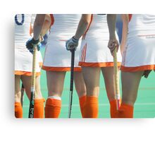 Netherlands Women Hockey Team Canvas Print