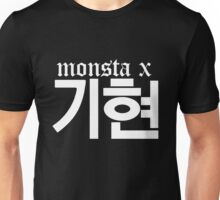 Monsta X Kihyun Name/Logo 2 Unisex T-Shirt