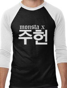 Monsta X Jooheon Name/Logo 2 Men's Baseball ¾ T-Shirt