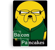 Bacon Pancakes Canvas Print