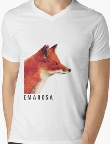 Emarosa Versus Fox Mens V-Neck T-Shirt