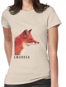Emarosa Versus Fox Womens Fitted T-Shirt