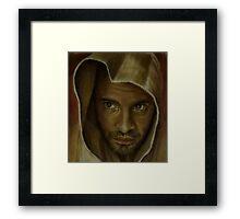 Fake Monk Framed Print