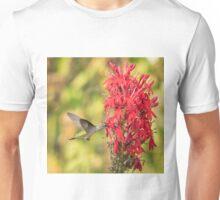 Ruby Throated Hummingbird 8-2015 Unisex T-Shirt