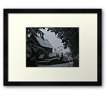 Framing the View Framed Print