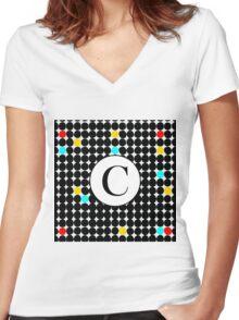 C Starz Women's Fitted V-Neck T-Shirt