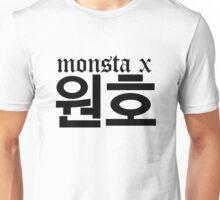 Monsta X Wonho Name/Logo Unisex T-Shirt