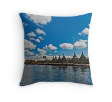 Titicaca Lake, Peru Throw Pillow