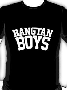 BTS/Bangtan Boys - University/Football Style 2 T-Shirt