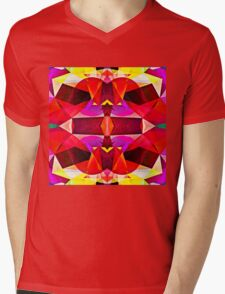 Symphony of Color Mens V-Neck T-Shirt