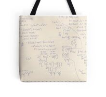 Calculus Homework(the flux) Tote Bag