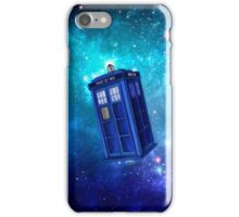 Tardis Blue Space Nebula iPhone Case/Skin