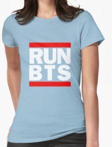 BTS Bangtan Boys 'RUN BTS' Womens Fitted T-Shirt