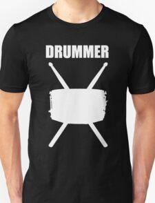 Drummer White T-Shirt