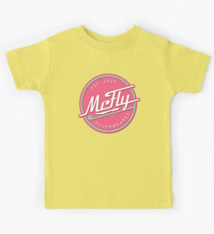 McFly Hoverboards Kids Tee