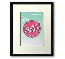 McFly Hoverboards Framed Print