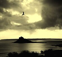 St.Michaels Mount, Cornwall by Daniel Loxley Warwood