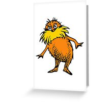 The Lorax Greeting Card