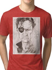 Walking Dead The Governor by Sheik Tri-blend T-Shirt