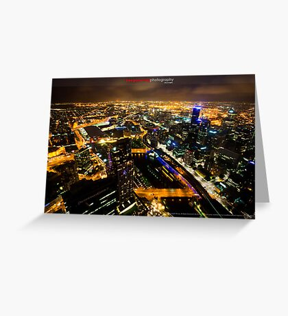 City of Lights Greeting Card