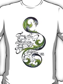 Forms of Nature Quote T-Shirt