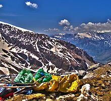 En Route to Rohtang by Neeraj Nema