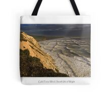 Gale Force Wind, South Isle of Wight Tote Bag