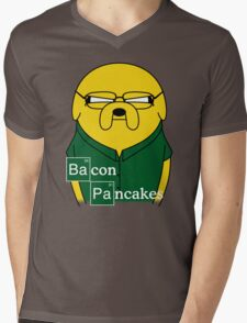 Bacon Pancakes Mens V-Neck T-Shirt