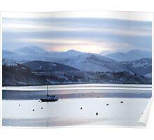Still morning, Loch Broom Poster