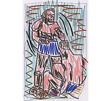 Drawing: Francis Bacon Archive V (2010) (Boxing) Photographic Print