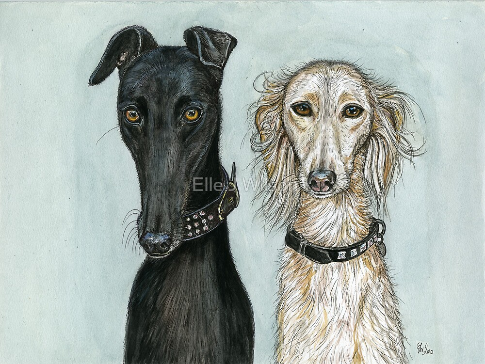 Cleo and Amber by Elle J Wilson