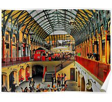 Covent Garden HDR Poster