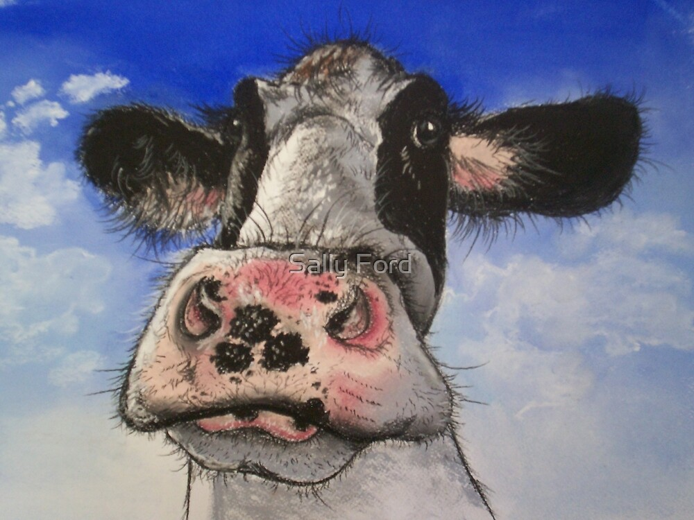 Moo! by Sally Ford