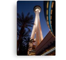 Stratosphere in Las Vegas Canvas Print