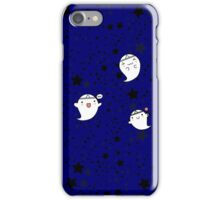 Kawaii Cute Halloween Ghosts iPhone Case/Skin