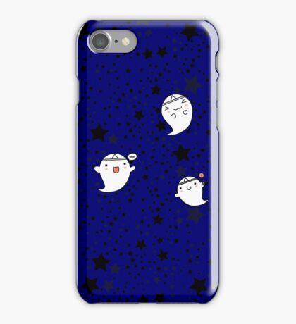 Kawaii Cute Halloween Ghosts iPhone Case/Skin