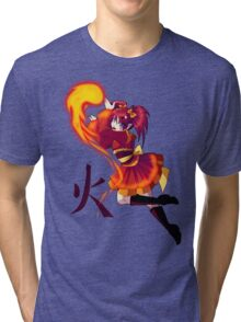Mages of the Elements .:. Fire Tri-blend T-Shirt