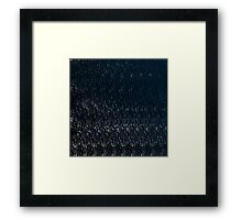 Knitted Stone. Framed Print