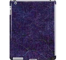 USGS Topo Map Oregon Bates 283051 1987 100000 Inverted iPad Case/Skin