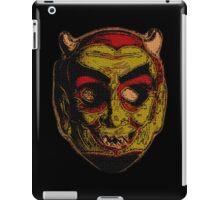 devil man iPad Case/Skin