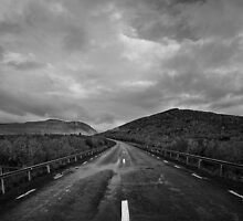 Road to the north by CalleHoglund