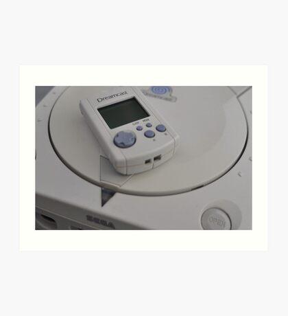 Sega Dreamcast Art Print