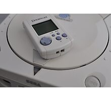 Sega Dreamcast Photographic Print
