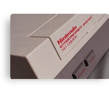 Nintendo NES Canvas Print